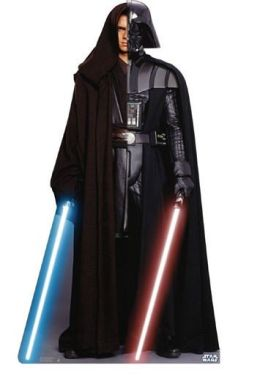 Advanced Graphics 1018 Anakin Vader Cardboard Standup