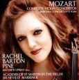 CD Cover Image. Title: Mozart: Complete Violin Concertos; Sinfonia Concertante, K. 364, Artist: Rachel Barton Pine