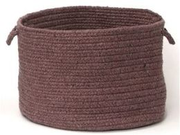 Madison MD94A018X018 Madison - Dark Plum 18 in. x 12 in. Utility Basket