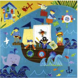 25 piece Puzzle Pirate