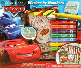 Disney Pixar Cars Marker by Numbers Boxed Kit