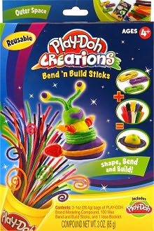 Play-Doh Creations Bend N Build Small Kit Outer Space