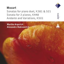 Mozart: Sonatas for Piano Duet, K381 & 521; Sonata for 2 Pianos, K448; Andante and Variations, K501