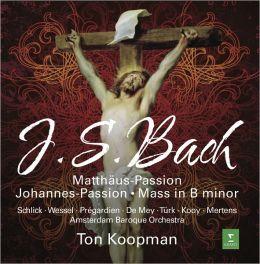J.S. Bach: St. Matthew Passion; Mass in B minor