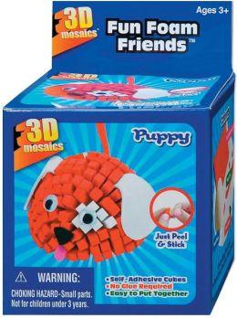 Fun Foam Friends 3D Mosaic Kit-Puppy