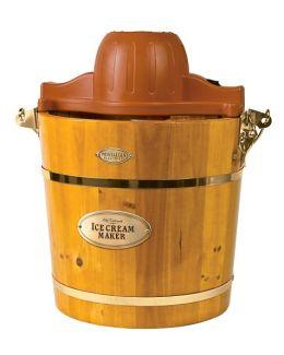 Nostalgia Electrics™ ICMW-400 4-Quart Wooden Bucket Electric Ice Cream Maker