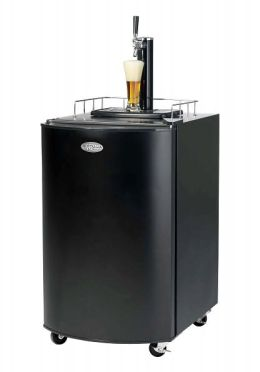 Nostalgia Electrics™ KRS-2100 Kegorator™ Beer Keg Fridge, Black