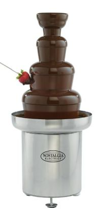 Nostalgia Electrics™ CFF-552 Commercial Stainless Steel Chocolate Fondue Fountain