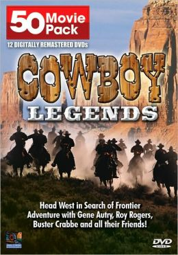 Cowboy Legends: 50 Movie Pack