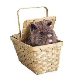 The Wizard of Oz -Toto In Basket Deluxe Costume Accessory