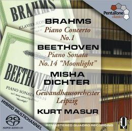 Brahms: Piano Concerto No. 1; Beethoven: Piano Sonata No. 14 'Moonlight'