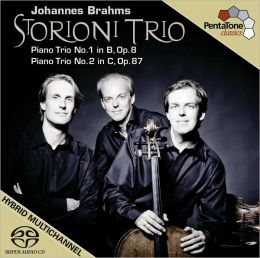 Brahms: Piano Trios Nos. 1 & 2  [Includes DVD]