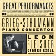 CD Cover Image. Title: Grieg, Schumann: Piano Concertos, Artist: Leon Fleisher