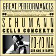 CD Cover Image. Title: Schumann: Cello Concerto, Artist: Yo-Yo Ma