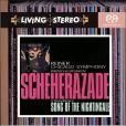 CD Cover Image. Title: Nikolay Rimsky-Korsakov: Scheherazade; Igor Stravinsky: Song of the Nightingale, Artist: Fritz Reiner