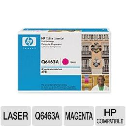 HP Magenta Print Cartridge For Laserjet 4730 MFP - 12000 Page Color - Magenta