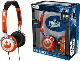 Funko Star Wars Rebel Alliance Fold-Up Headphones