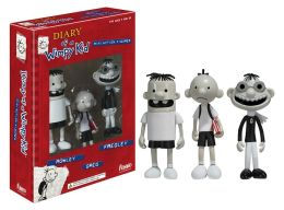 Diary of a Wimpy Kid: 3 Pack Action Figures