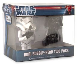 Darth Vader & Stormtrooper Mini 2-Pack Wacky Wobblers