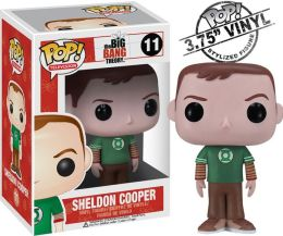 POP Television: Sheldon Green Lantern Shirt