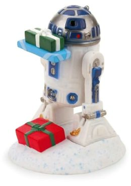 R2D2 Mini Holiday Booble-head