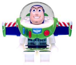 LEGO Toy Story Buzz minifigure clock