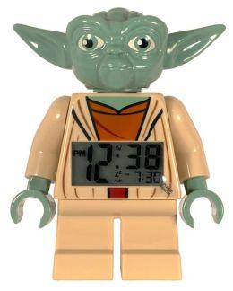 LEGO Clone Wars Minifigure Clock - Yoda
