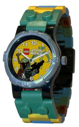 LEGO Star Wars Watch with Mini Figure - Boba Fett