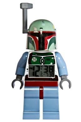 LEGO Star Wars Mini Figure Clock - Boba Fett