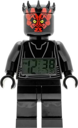 LEGO Star Wars Darth Maul mini figure Clock