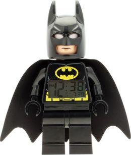 LEGO DC Universe Super Heroes Batman Minifigure Clock