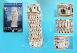 Daron 13 Piece 3D Puzzle - Leaning Tower of Pisa