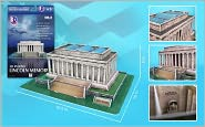 Daron 42 Piece 3D Puzzle - Lincoln Memorial
