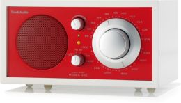 Tivoli Audio Model One AM/FM Radio - Frost White/Ember Red