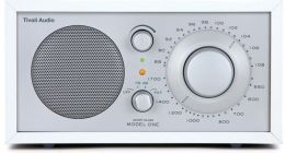 Tivoli Audio Model One AM/FM Radio - White/Silver