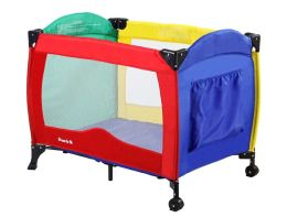 Dream On Me, Incredible Value Full Size Play Yard, Multi Color