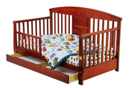 Dream On Me, Deluxe Toddler Day Bed, Cherry