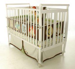 Dream On Me, Bella 2 in 1 Convertible Sleigh Crib, White