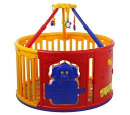 Dream On Me, Deluxe Circular Play Yard with Jungle Gym