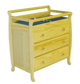 Dream On Me, Liberty Collection 3 Drawer Changing Table, Natural