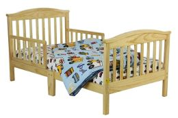 Dream On Me, Mission Collection Style Toddler Bed, Natural