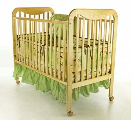 Dream On Me, Bristol 2 in 1 Convertible Crib, Natural