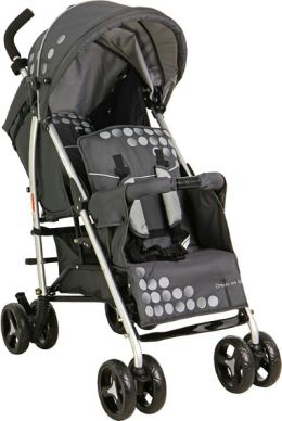 Dream On Me FreedomTandem stroller in Black (460-C)