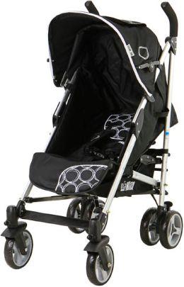 Mia Moda Fiore Stroller In Cercle Noir (500-CN)