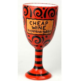 Cheap Wine Goblet - Red
