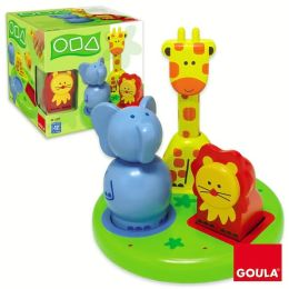 3D Animal Shapes Puzzle