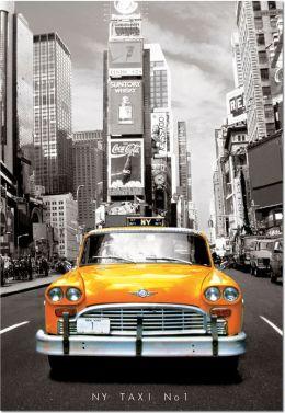 NY Taxi No. 1, 1000 Piece Puzzle