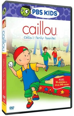 Caillou's Family Favorites / (Full Dub Dol Sen)