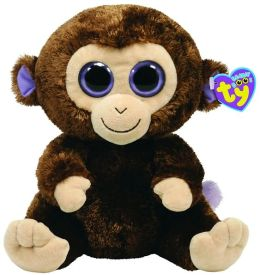 Ty Beanie Boos Plush - Coconut monkey 13in