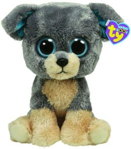 Ty Beanie Boos Plush - Scraps dog 13in